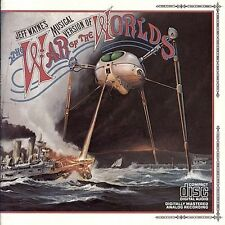 JEFF WAYNE - War of The Worlds (2 CD Box Set 1986, Columbia) EXCELLENT, RARE