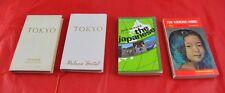 Lot of 4 Japanese Books Tokyo Akasaka & Palace Hotels Kimono Mind & Seward  X5G7