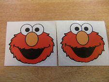 "ELMO - sesame street  - funny decal pair 3""  -  jdm / sticker bomb style"