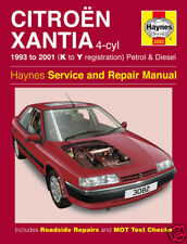 Haynes Manual Citroen Xantia 1993-2001 Ptrl & Dsl 3082