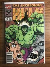 The Incredible Hulk #372 Newsstand Key Issue Marvel Comics 1990