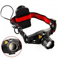 1200Lm Cree Q5 LED Zoomable Zoom Headlamp Hiking Light Lamp Outdoor Torch AAA