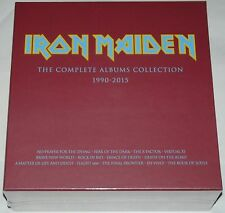 Iron Maiden LP The Complete Albums 1990 - 2015 Collectors Box Feat: 2 x LP'S NEW