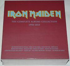 Iron Maiden LP The Complete Albums 1990 - 2015 Sammler box feat: 2 x LPs neu