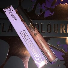 Nib Shayla X Colourpop Ultra Glossy Lip Gloss (Neat Freak) Nude Gold Glitter �