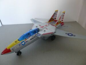 """Son AI-Toys  F-14A """"TOMCAT"""" Jet Fighter Battery Action Activated in Original Box"""