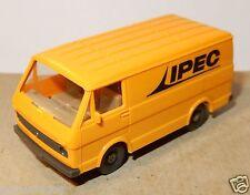 WIKING HO 1/87 VW VOLKSWAGEN FOURGON VAN COMBI LT 28 ORANGE TRAVAUX PUBLICS IPEC