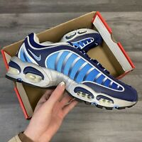 NIKE AIR MAX TAILWIND IV BLUE NAVY TRAINERS SHOES SIZE UK7.5 US8.5 EUR42