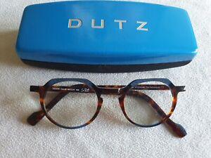 Dutz brown tortoiseshell glasses frames. SZ2208.