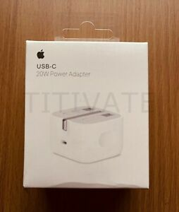Genuine Apple A1696 20W USB TYPE C Power Adapter Charging Plug iPhone12 12ProMax