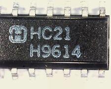 10 x Harris CD74HC21M surface mount 74HC21 dual 4 input AND gate SO14 SMD 74HC21