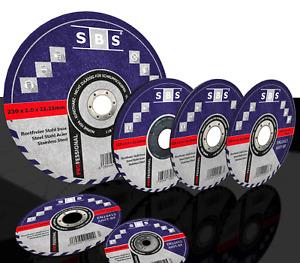 SBS® Schruppscheiben/ Trennscheiben Ø75/115/125/230mm Schleifscheiben Metall V2A