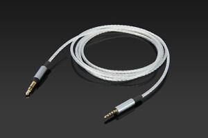 Silver plated Audio Cable For JBL E65BTNC E35 E40BT E500BT C45BT Headphones
