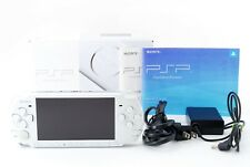 Sony PSP 3000 Launch Edition Pearl White Console w/ Box and Charger [Excellent]