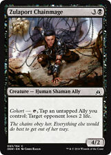 4x 4 x Zulaport Chainmage x 4 Common Oath of the Gatewatch MTG Magic