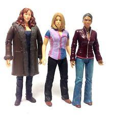 "BBC TV DOCTOR WHO - COMPANIONS 6"" toy figure set DONNA, ROSE, MARTHA SARAH etc"
