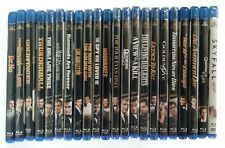 James Bond Blu-Ray Collection 22 Films 1962-2012 Mostly New