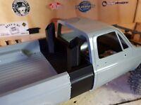 Scalemonkey Diesel Stacks For RC4WD Blazer Body Crawler axial scx10 vaterra