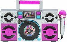 Lol Surprise Omg Remix Karaoke Machine Sing Along Boombox with Real Karaoke.