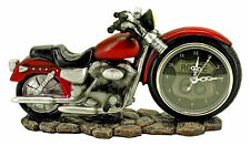 Route 66 Motorcycle Clock