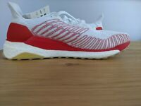 Adidas Solar Boost 19 Running Shoes EG2362 Cloud White Red Blue Mens Size 10.5