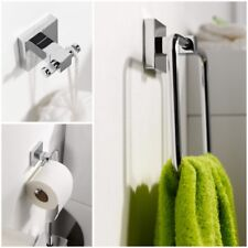 HACEKA mezzo Starter Accessory Pack Includes towel ring, toilet roll holder, hoo