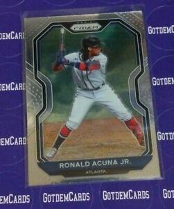 2021 Panini Prizm #7 Ronald Acuna Jr. Atlanta Braves 🔥⚾🔥📈