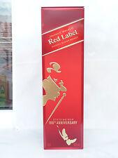 Johnnie Walker tin box red Striding man 100 th Anniversary whiskey used rare