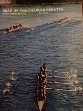 Head-Of-The Charles Regatta Program 1978