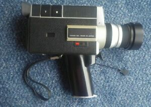 Canon Auto Zoom 518 SV Super 8 Cine Camera with Case and Remote 3 Switch