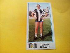 Figurina Album Calciatori Panini 1974/75 n°9 MARIO COLAUTTI ASCOLI Rec.