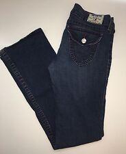 True Religion High Rise Dark Blue boot leg (31X42) RN112790 CA30427