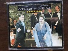 FREDDIE MERCURY & MONTSERAT CABALLE BARCELONA 1987 MAXI CD USED
