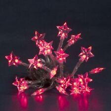 LED Lichterkette 20er Sterne rot Batteriebetrieb Konstsmide 1263-553