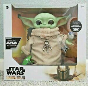 The Child Baby Yoda Toy Plush Star Wars Knob Frog Necklace Mandalorian