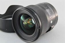 SIGMA 24mm F/1.4 DG Art lens For Canon fully functional