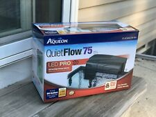 Aqueon Quiet Flow Aquarium Power Filters - 55/75 Up to 90 Gal. NEW