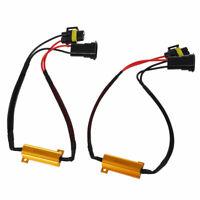 1X(2X Resistencia H11 H8 Intermitente LED 50W para AUDI BMW Canbus N1U4) T01
