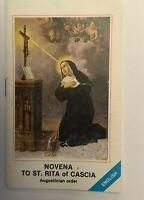 Novena to Saint Rita of Cascia,New From Italy