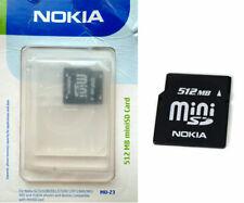 Carte Mini SD 512 Megabytes Nokia MU-23