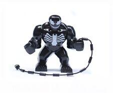 1 X Building Toys Minifigures Super Heroes Black Venom Spider-man Blocks Toy