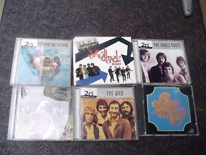 6 - Classic Rock CD's - Who, Yardbirds, Joplin, Chicago, Grass Roots, Mama's