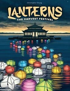 Lanterns: The Harvest Festival Board Game -Tile Laying Game - New - MINOR DEFECT