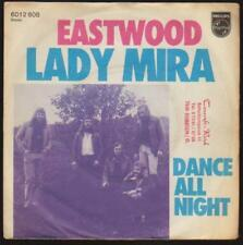 """7"""" EASTWOOD LADY mira/dance all night 70`s PHILIPS"""