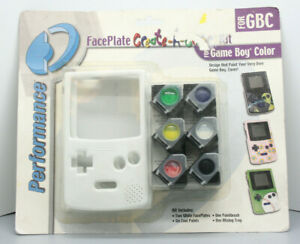 FacePlate Create A Cover Kit - NEW - Game Boy Color - Fast Shipping in US!