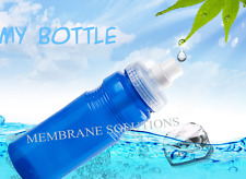Leak Proof Filter Water Bottle Sports Gym Drinking Bottles with Spray Filter