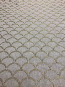 Fabricut Orion Linen Scales Fabric By the yard