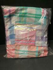 Pottery Barn Kids Pink MADRAS ANYWHERE Slipcover BEANBAG COVER EASTER Gift NEW