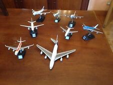 LOT DE 8 AVIONS DE LIGNE METAL 1/400