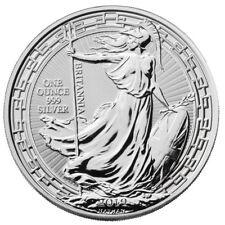 2019 Great Britain 1 oz Silver Britannia Oriental Border £2 Coin GEM BU SKU56992